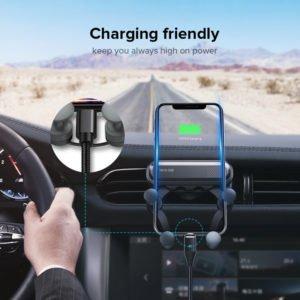 4 INIU Gravity Car Holder For Phone in Car Air Vent Clip Mount No Magnetic Mobile Phone result MangoPanda®
